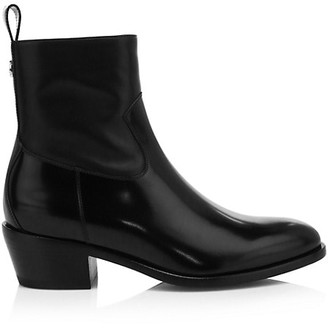 Jimmy Choo Jesse Patent Leather Ankle Boots