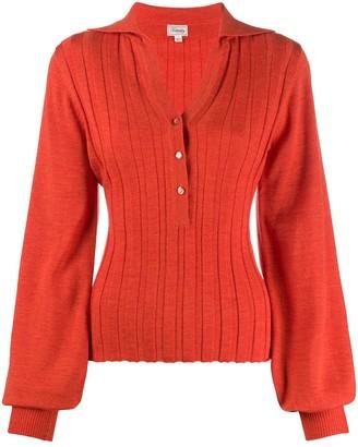 Temperley London ribbed knit cardigan