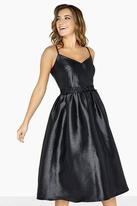 Little Mistress Dionne Lurex Prom Dress