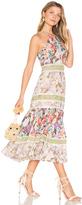 Rebecca Taylor Print Mix Dress