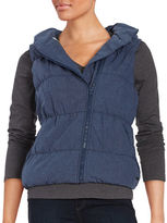 Bench Hooded Quilted Puffer Vest