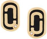 Marc Jacobs double J stud earrings