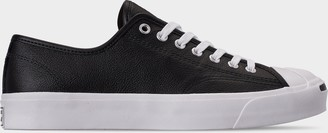 Converse Men's Jack Purcell Tumbled Leather Casual Shoes