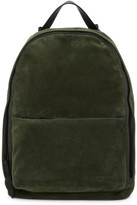 3.1 Phillip Lim Green Suede Hour Backpack