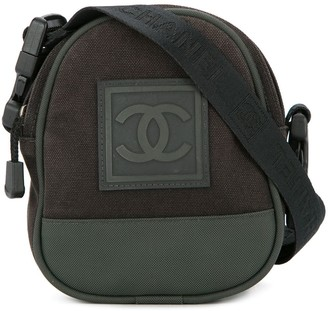Chanel Pre Owned Sports logo cross body bag