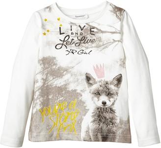 3 Pommes Girl's 3G10024 Wild Princess T-Shirt