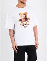 Moschino Teddy Bear-print Cotton T-shirt