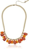 "Kenneth Cole New York Coral Canyon"" Shaky Mixed Semiprecious Coral Stone Necklace, 17"" + 3"" Extender"