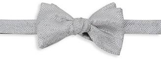 Eton Basketweave Silk-Blend Bow Tie
