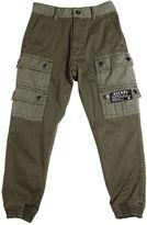 Diesel Stretch Cotton Gabardine Cargo Pants