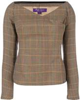 Ralph Lauren checked blouse