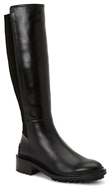 Aquatalia Women's Omara Weatherproof Stretch Leather Tall Boots