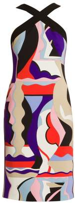 Emilio Pucci Vallauris Halterneck Sheath Dress