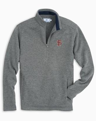 Southern Tide FSU Sweater Fleece Quarter Zip