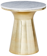 west elm Marble Pedestal Side Table