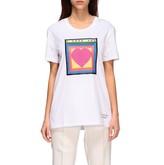 Iceberg T-shirt X Peter Blake T-shirt With I Love You Print