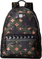 MCM Dieter Munich Lion Camo Nylon Medium Backpack Backpack Bags