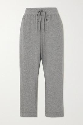 James Perse Lotus Cotton-jersey Track Pants - Gray