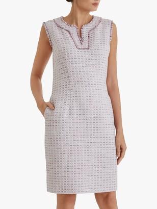 Fenn Wright Manson Dominique Dress, Blush Tweed