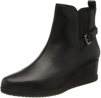 Geox Women's D ANYLLA Wedge C Ankle Boot