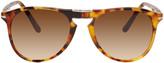 Persol Tortoiseshell Folding Sunglasses