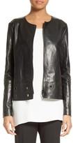 Lafayette 148 New York Women's Santino Cutout Leather Jacket