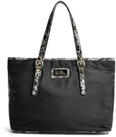 GUESS Florencia Python-Trim Carryall Tote