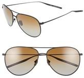 Salt Men's 'Francisco' 59Mm Gradient Sunglasses - Black Sand/ Brown