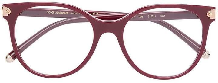 Dolce & Gabbana Eyewear round shaped glasses