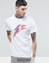 Reclaimed Vintage T-Shirt With David Bowie Print
