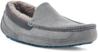 UGG Men's Ascot Suede Moc-Toe Slippers