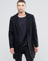 Sisley Classic Wool Mix Overcoat