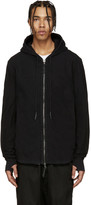 11 By Boris Bidjan Saberi Black Knit Hoodie