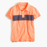 J.Crew Boys' striped polo shirt in the softest jersey