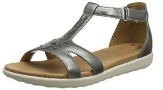 Clarks Un Reisel Mara, Women's T-Bar Sandals,(42 EU)