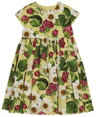 Dolce & Gabbana Kids Floral Print Dress (8-12 Years)