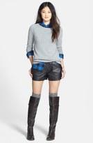 Halogen Leather Shorts (Regular & Petite) (Online Only)