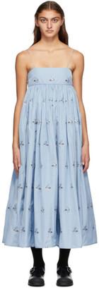 Cecilie Bahnsen Blue Beth Dress
