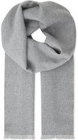 Johnstons Plain extra-fine merino-wool scarf