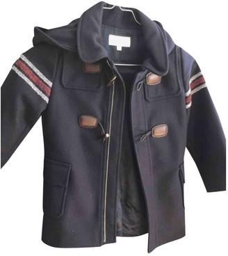 Gucci Navy Wool Jackets & Coats