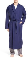 Majestic International Men's 'Get The Blues' Terry Lined Robe