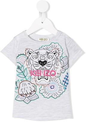 Kenzo Kids lion print T-shirt
