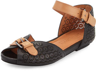 Gentle Souls Bessie Laser-Cut Sandals