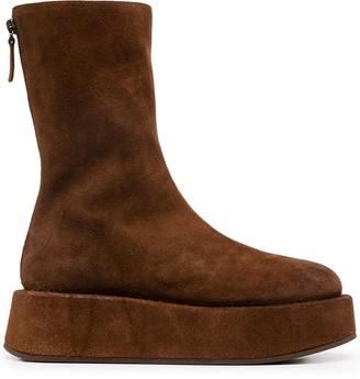 Marsèll Platform Leather Boots