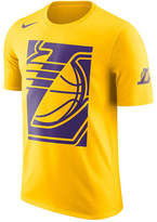 Nike Men's Los Angeles Lakers Cropped Logo T-Shirt