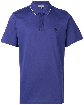 Lanvin embroidered polo shirt