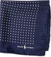 Ralph Lauren Polka-dot Silk Pocket Square