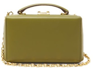 Mark Cross Grace Small Gold-plated Leather Belt Bag - Khaki