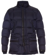 Brioni Japanese Quilted-down Coat