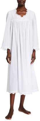 Celestine Galina Long-Sleeve Cotton Nightgown